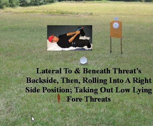 Lateral To & Beneath Threat's Backside!