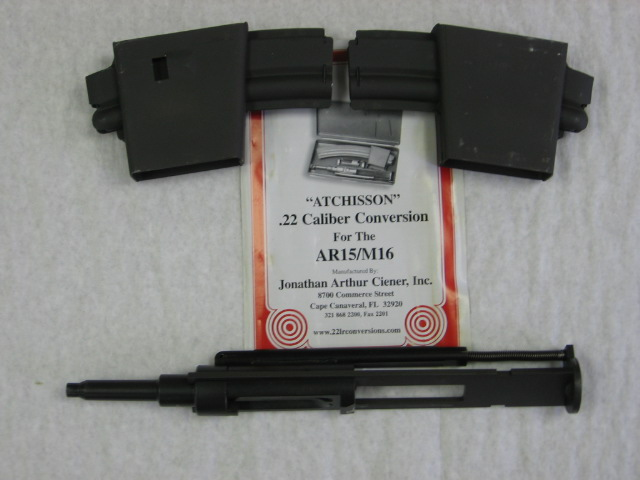 [Atchisson .22 Long Rifle Conversion Unit for The AR-15]