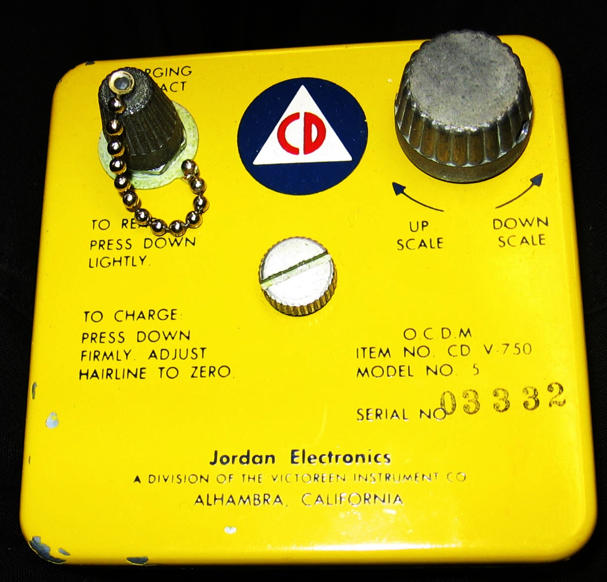 Radiological Meter Page Schematic For Victoreen Cd V700 Geiger Counter The V 750 Is A Dosimeter Charger It Can Charge Lot Of Dosimeters So Get As Many You Think Youll Need