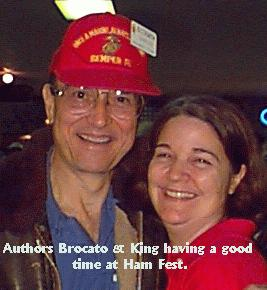 [Photo of Brocato & King at Ham Fest]