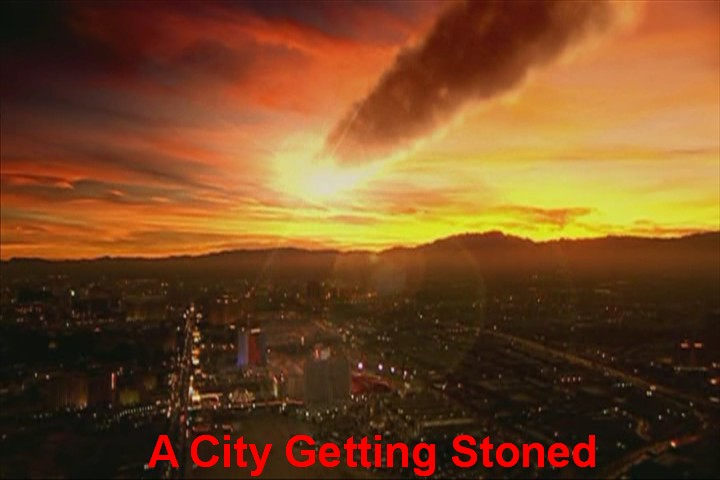 [A City Being Stoned]