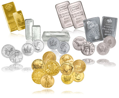 [Gold Bars & Silver Coins & Boullion]