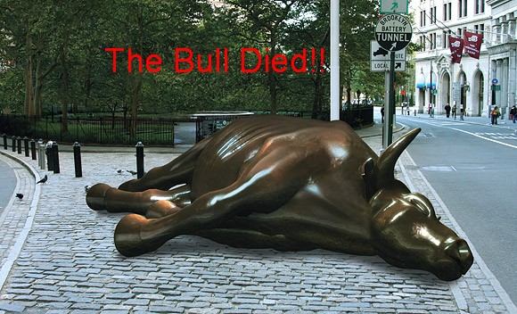 [The Bull Died!]